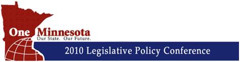 One Minnesota 2010 Legislative Policy Conference